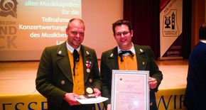 Goldmedaille in Serfaus